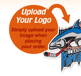 Upload Your Logo - Simply upload your image when placing your order.