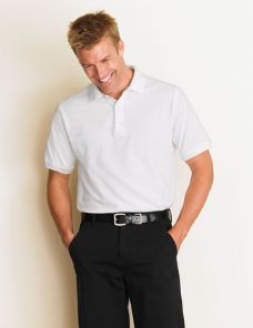 Euro Blend 65/35 Adult Polo