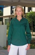 Women's Pinpoint Oxford blouse - long sleeve