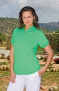 Kate cotton polo shirt