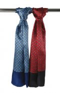 Dice check business scarf