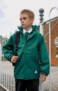 Kid's reversible fleece jacket