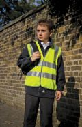 Kid's high-viz safety vest EN1150 Class 2 Appr